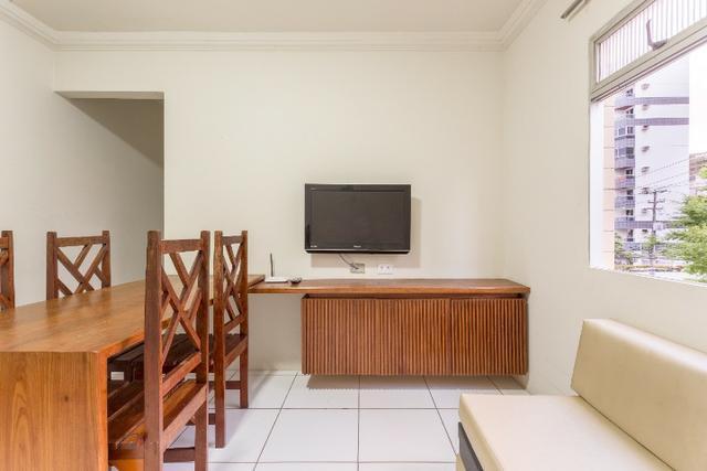 Apartamento mobiliado bem localizado pertinho da praia -