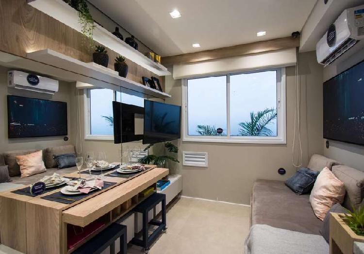 Apartamento para venda possui 24 m² com 1 quarto