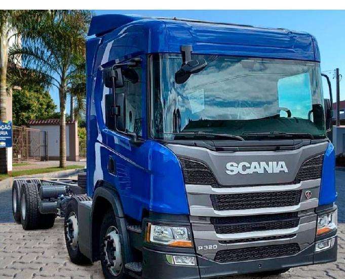 Caminhão scania bitruck p320 ano 2020.