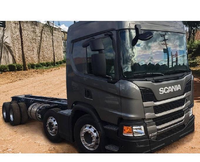 Caminhão scania p310 8x2 ano 201920.