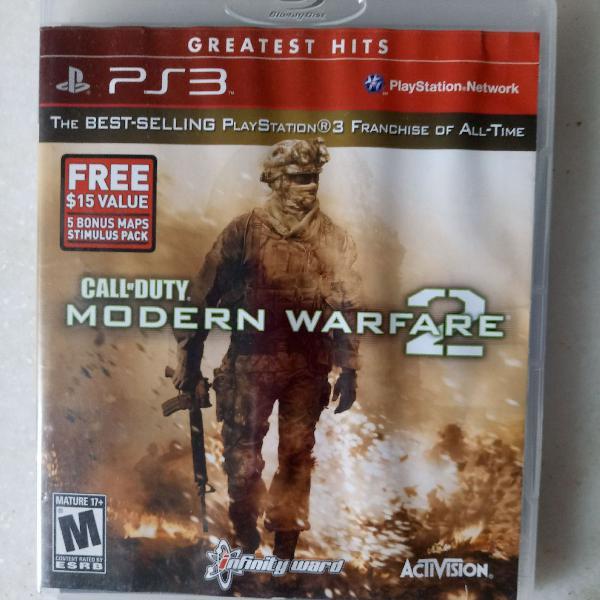 Call of duty modern warfare 2- ps3