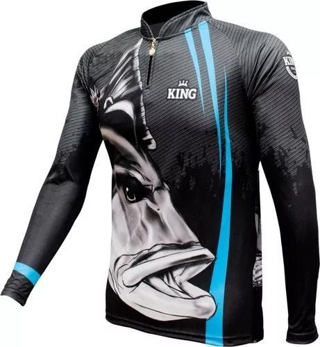 Camisa camiseta pesca king proteção uv cod.606