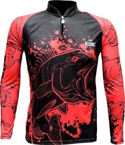 Camisa camiseta pesca king proteção uv cod.607