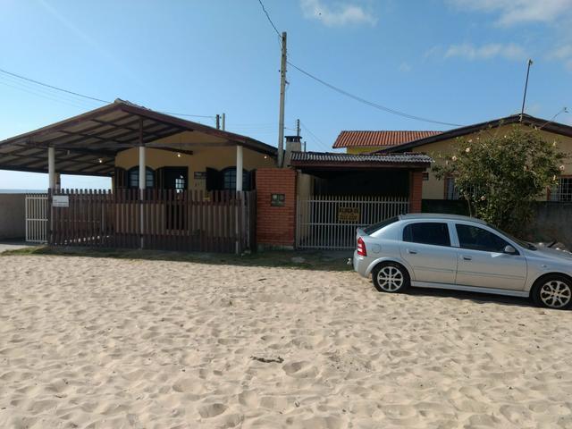 Casa praia matinhos, na areia da praia