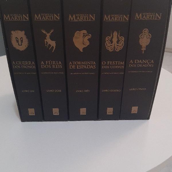 Coleção completa de george r. r. martins, game of
