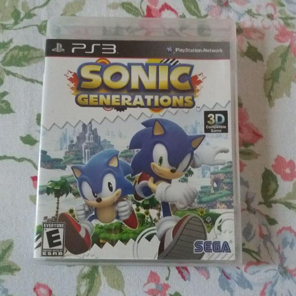 Game sonic generations - ps3