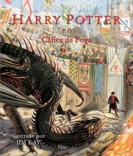 Harry potter e o cálice de fogo - edição ilustrada c.