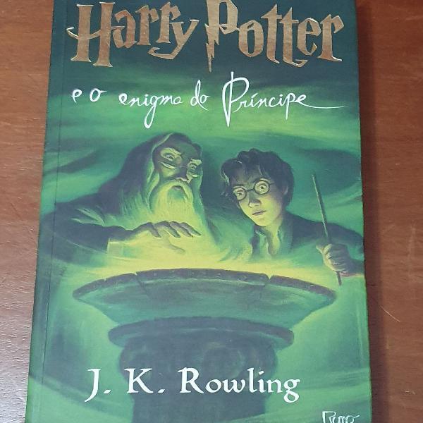 Harry potter e o enigma do príncipe (j. k. rowling)