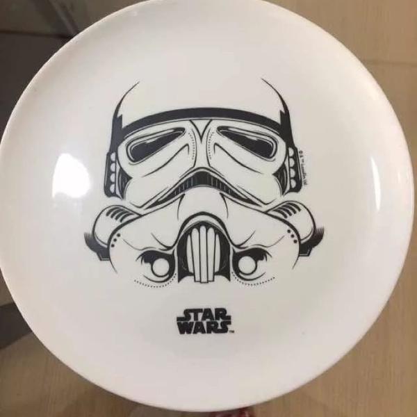 Jogo de porcelana star wars
