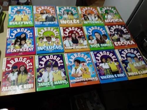 Kit livros carrossel coleção oficial - 15 volumes