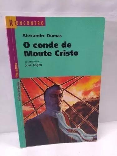 Livro o conde de monte cristo - 1ª edição/2004 - foto