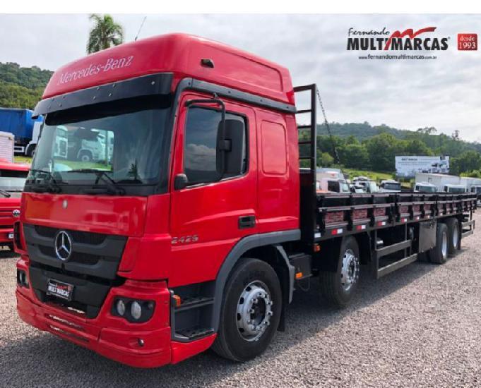 Mercedes benz atego 2429 - bitruck 8x2 - carroceria 11.55m