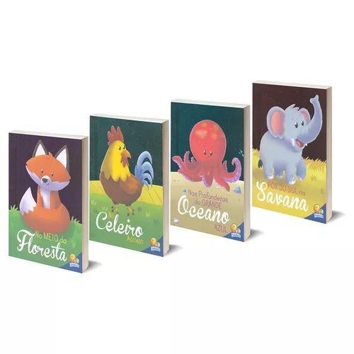 Primeiro livro do bebê coleção imitando os animais