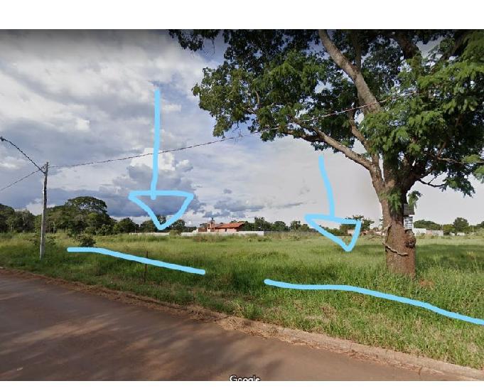 Terreno 2.500 m² - mansões do campos - próx. ufg