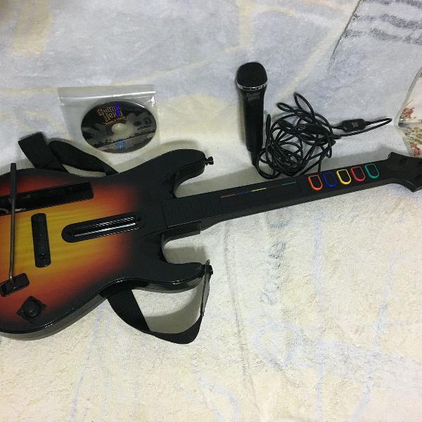 Acessórios guitar hero para wii