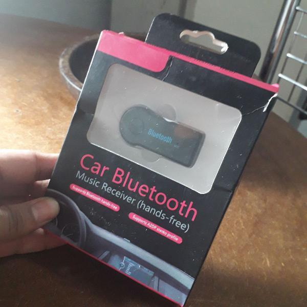 Adaptador bluetooth c/p2 para carro car bluetooth