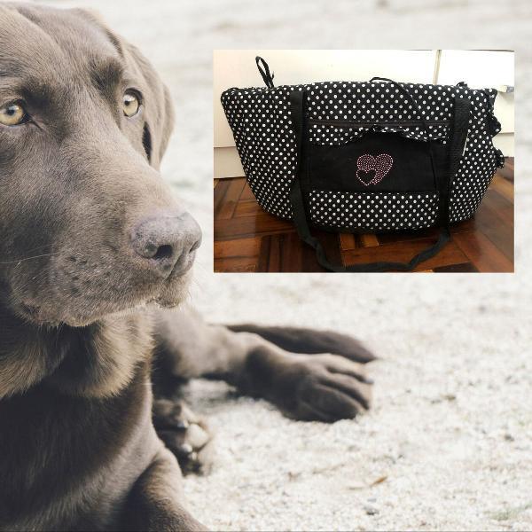 Bolsa de passeio transporte cachorro - tam grande