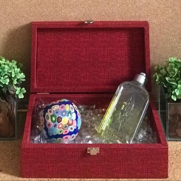 Caixa decorativa e organizadora