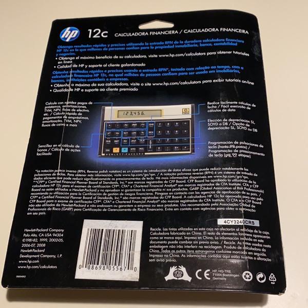 calculadora hp12c original