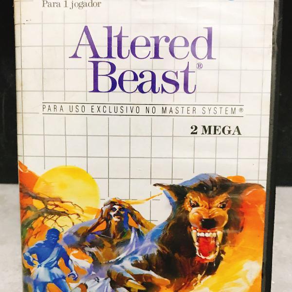 Cartucho altered beast master system