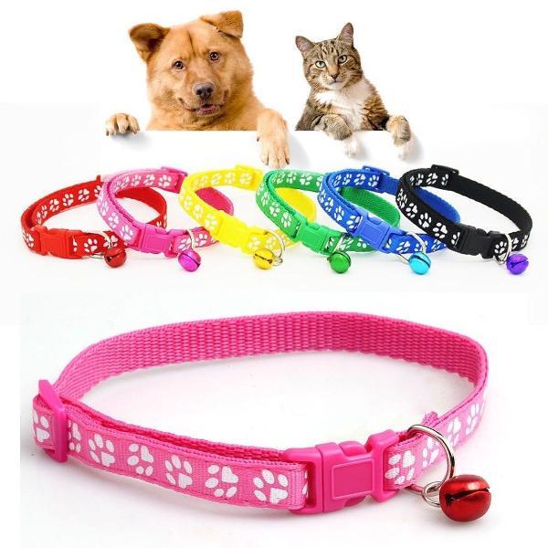 Coleira para animais estimação cachorro gato cães cão