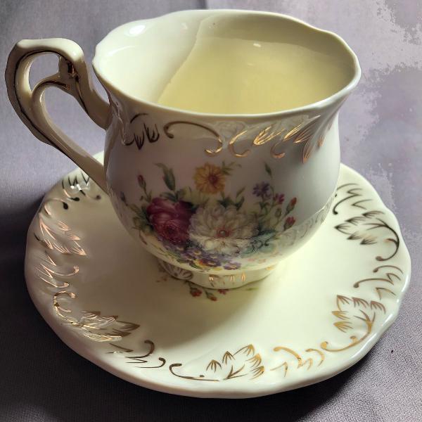 Conjunto de xícara de café/chá estilo europeu