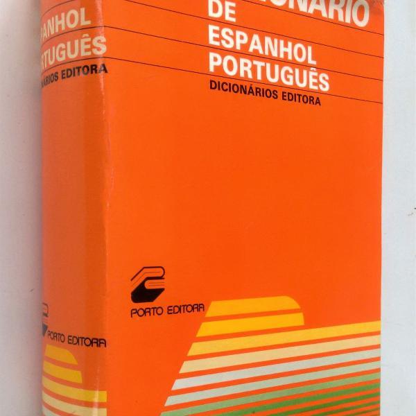 Dicionário de espanhol / português - editora porto - julio