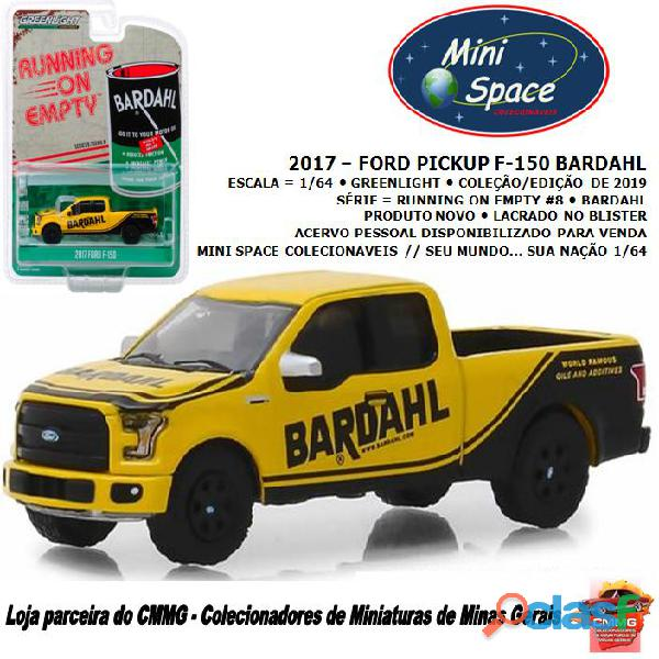 Greenlight 2017 Ford F 150 Pickup logo Bardahl 1/64