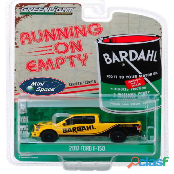 Greenlight 2017 Ford F 150 Pickup logo Bardahl 1/64 1