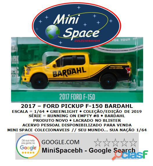 Greenlight 2017 Ford F 150 Pickup logo Bardahl 1/64 2