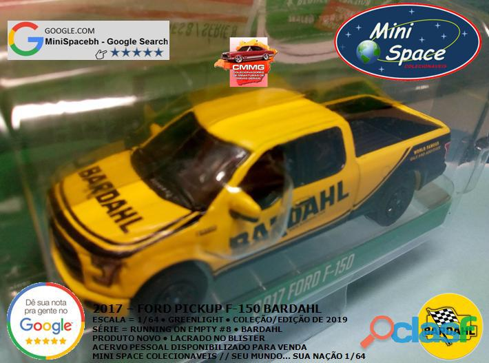 Greenlight 2017 Ford F 150 Pickup logo Bardahl 1/64 4