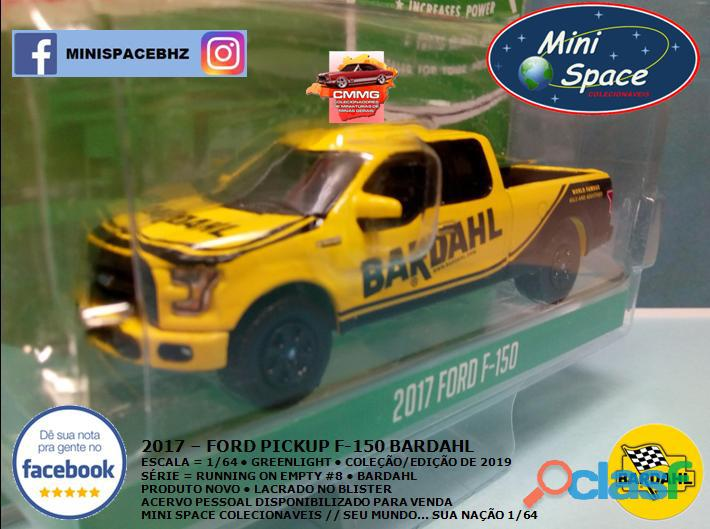 Greenlight 2017 Ford F 150 Pickup logo Bardahl 1/64 5