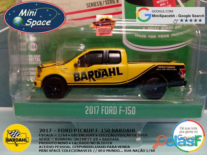 Greenlight 2017 Ford F 150 Pickup logo Bardahl 1/64 7