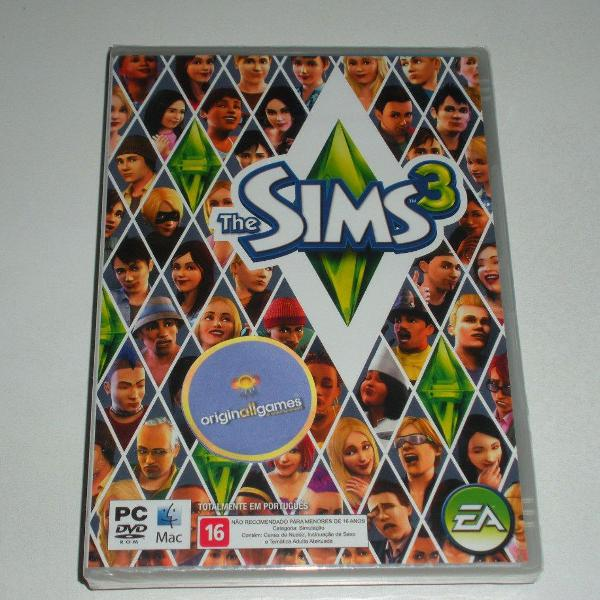 Jogo pc original - the sims 3