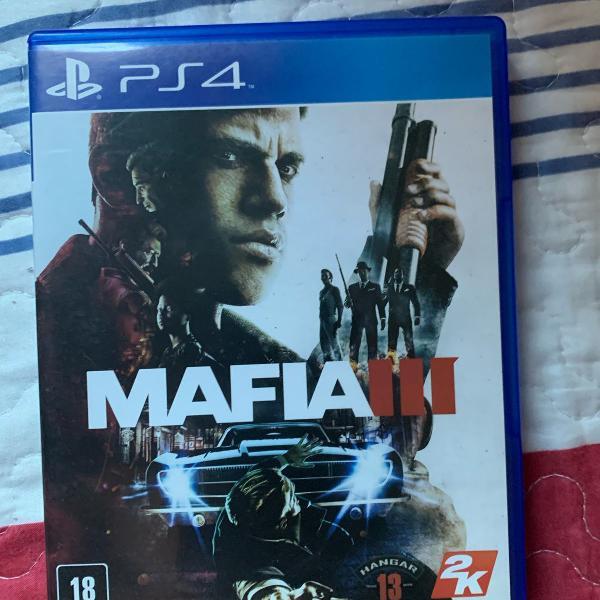 Jogos ps4 mafia 3