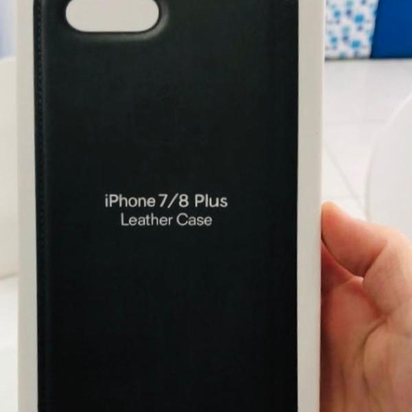 Leather case apple iphone 7/8 plus