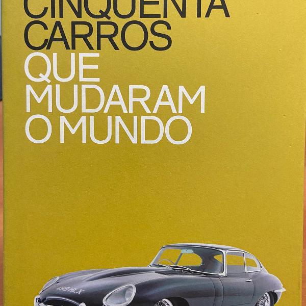 Livro cinquenta carros que mudaram o mundo