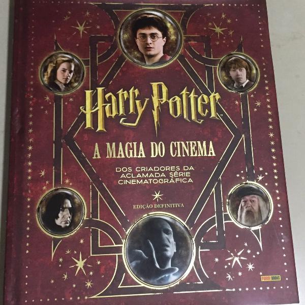 Livro harry potter e a magia do cinema