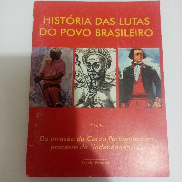 Livro história de lutas do povo brasileiro
