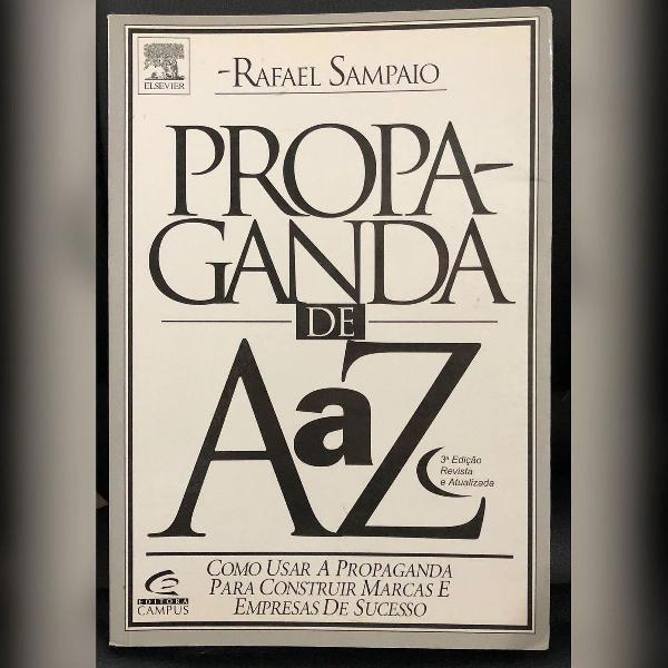 Livro propaganda de a a z - novo