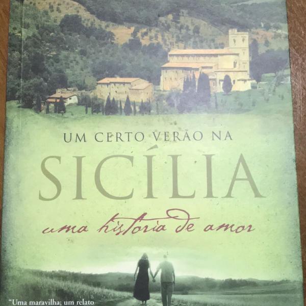 Livro: um certo verão na sicília