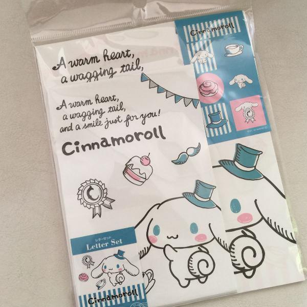 Papel de carta cinnamoroll sanrio