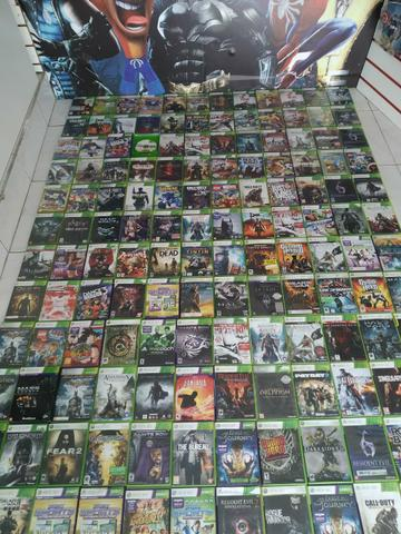 Jogos xbox360 originais com garantia