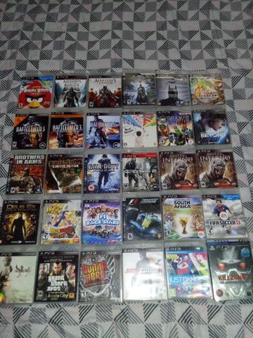 Jogos de playstation 3 perfeito estado