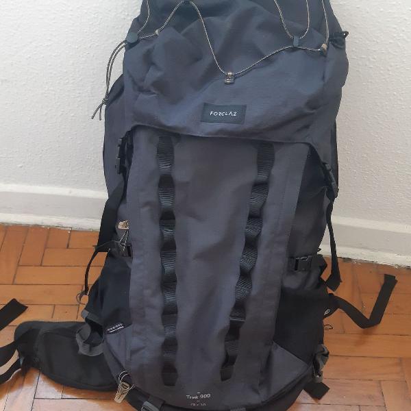 Mochila cargueira (trekking) forclaz - trek900 70+10