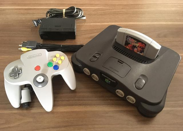 Nintendo 64 + fighter destiny
