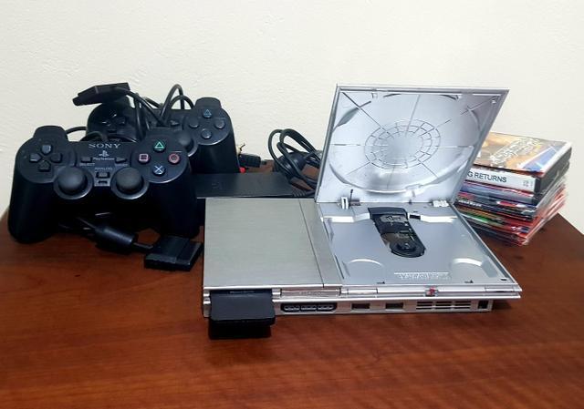 Playstation 2 prata desbloqueado