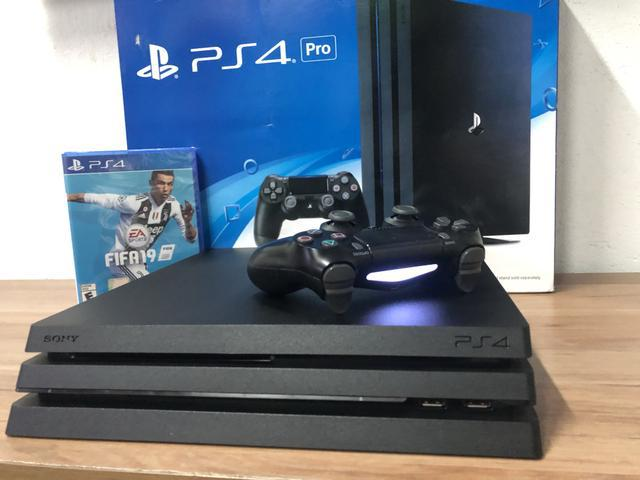 Playstation 4 pro::: semin0v0 c/ garantia!