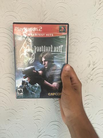 Resident evil 4, original de ps2, troco por outro jogo de