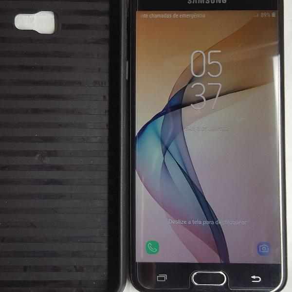 Samsung galaxy j7 prime 32gb dual chip tela 5.5 3gb ram tudo